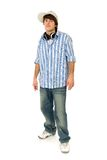 Casual cool young guy. Standing Royalty Free Stock Photo