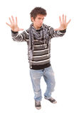 Casual cool young guy Stock Image