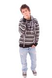 Casual cool young guy Royalty Free Stock Images
