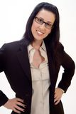 Casual Corporate Headshot. Of female executive smiling Royalty Free Stock Photography