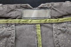 Casual cotton men's trousers Stock Photos