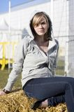 Casual Country Girl Stock Images