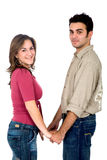 Casual Couple portrait Stock Photography