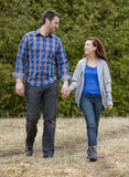 Casual couple Stock Photography