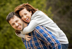 Casual couple Royalty Free Stock Photography