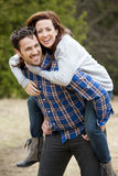 Casual couple Stock Image