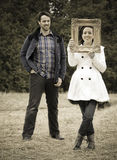 Casual couple Royalty Free Stock Image