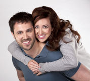 Casual couple Royalty Free Stock Photo