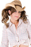 Casual Cowgirl Stock Photography
