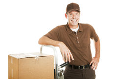 Free Casual Delivery Guy Or Mover Stock Photo - 11654460