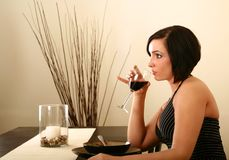 Casual Dining 2 Royalty Free Stock Photo