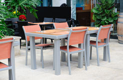 Casual dining area Stock Photography