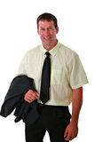 Casual Dressed Businessman Portrait Stock Image
