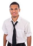 Casual Dressed Young African American Male Stock Images