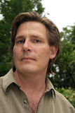 casual earring man Στοκ εικόνες με δικαίωμα ελεύθερης χρήσης