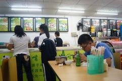Casual eateries Stock Photos
