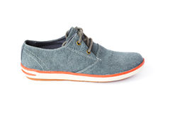 Casual fabric shoes isolated Royalty Free Stock Image