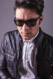 Casual fashion man wearing sunglasses Royalty Free Stock Photo