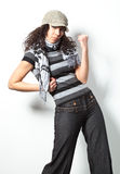 Casual fashion woman Royalty Free Stock Photos