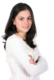 Casual Female Portrait Royalty Free Stock Photography