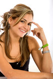 Casual female portrait Royalty Free Stock Images