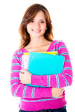 Casual female student Stock Photography