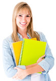 Casual female student Royalty Free Stock Images