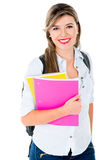 Casual female student Royalty Free Stock Photos