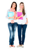 Casual female students Royalty Free Stock Photo