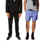Casual and formal wear Stock Photo