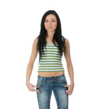 Casual girl Stock Photography