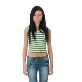Casual girl Royalty Free Stock Photography