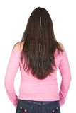 Casual girl from behind Stock Photography