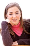 Casual girl portrait Stock Photo