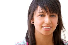 Casual girl portrait Royalty Free Stock Images