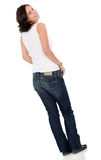 Casual girl standing Royalty Free Stock Image
