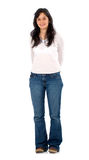 Casual girl standing Stock Photo