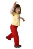 Casual Girl walking Royalty Free Stock Photo