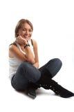 casual good looking woman young Στοκ φωτογραφία με δικαίωμα ελεύθερης χρήσης