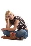 casual good looking woman young Στοκ Εικόνες