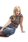 casual good looking woman young στοκ εικόνες με δικαίωμα ελεύθερης χρήσης