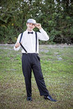 Casual Groom Stock Photo