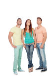 Casual group of friends Royalty Free Stock Photos