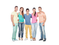 Casual group of friends Stock Photos