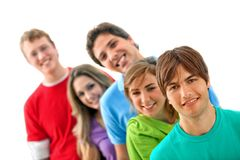 Casual group of people Royalty Free Stock Photo