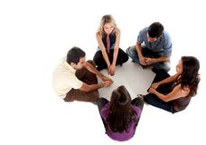Casual group of people Stock Photo