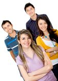 Casual group of people Stock Image