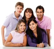 Casual group of people Royalty Free Stock Images