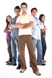 Casual group of people Stock Photos