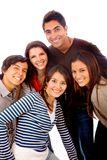 Casual group of people Royalty Free Stock Image